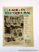 1990 december 24 - 30  /  RTV  /  Régi ÚJSÁGOK KÉPREGÉNYEK MAGAZINOK Szs.:  11010