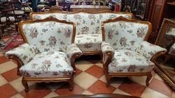 3 darabos barokk ülőgarnitúra