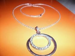 Amulett Dior stílusú Iparművész Nyakék 62 cm !!