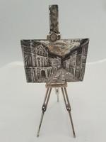 Fantasztikus ezüst kép mozgó álvánnyal Sauro