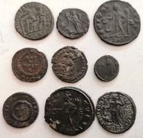 9db Különféle Római uralkodó