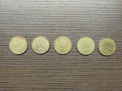 10 Forint 1983;1984;1985;1986;1988