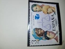 Spanyol, postatiszta, 1 db, mikori?