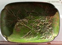 Antik szecessziós osztrák hamutál