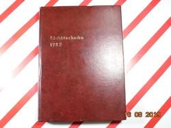 Rádiótechnika 1982 - Elektronika, magnetofon, televízió, tranzisztor