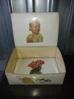 Vintage Kézzel Készített Doboz