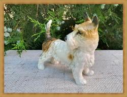 Nagyon szép ENS porcelán kutya