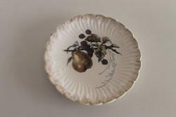 Wilhemsburg fajansz süteményes tányér