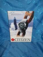 Citizen óra asztali reklám
