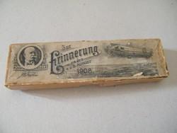 Zeppelin (1908 Erinnerung) emlékkanál doboza