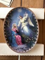 Eladó eredeti, kézzel festett Bradex tányérak