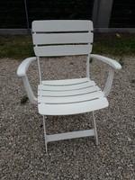 KETTLER  VENEZIA műanyag kültéri karfás szék 1996 - ból félár alatt!