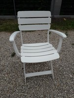 KETTLER  VENEZIA műanyag kültéri karfás szék 1996 - ból féláron !