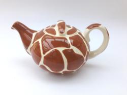 Pataki kerámia teáskanna - limitált Pickwick zsiráfos kiöntő - zsiráf mintás teáskancsó