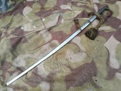 Horthy II..vh magyar tiszti kard eredeti koronás bojttal szép állapot