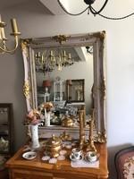 Tükör antik blondel keretben