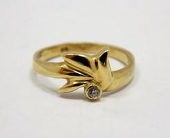 Köves arany gyűrű (ZAL-Au79160)