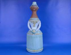 0D252 Jelzett Kiss Roóz kerámia szobor 34cm