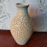 Zsolnay: Zsugormázas ,ritka váza