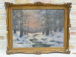 Méray Gyula: Téli táj
