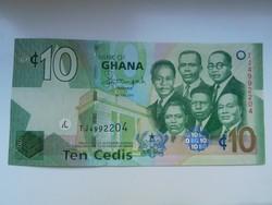 Ghána 10 cedis 2015 UNC