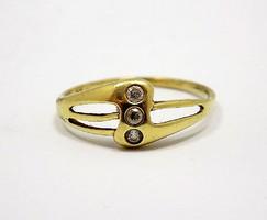 Köves arany gyűrű (ZAL-Au79170)