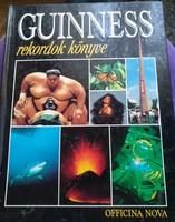 Guinness rekordok könyve 1994. Officina Nova kiadó, ajánljon!