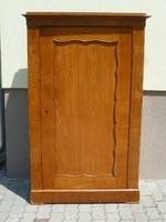 Biedermeier, egyajtós, intarziás ruhásszekrény: Anno ~1850