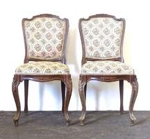 0X918 Régi neobarokk szék pár