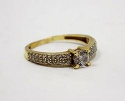 Köves arany gyűrű (ZAL-Au79175)