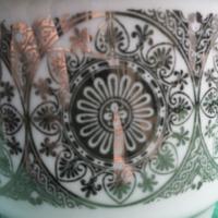 Zsolnay csészék párban
