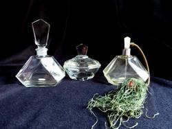 Bohemia Glass lapra csiszolt piperekészlet