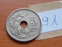 BELGIUM BELGIQUE 5 CENTIMES 1932 CSILLAGGAL 91.