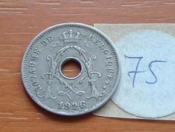 BELGIUM BELGIQUE 5 CENTIMES 1926  75.