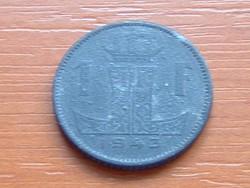 BELGIUM BELGIQUE - BELGIE 1 FRANK 1943 WW II CINK #