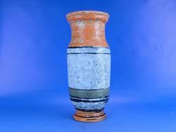0C029 Régi Gorka Lívia kerámia váza 27 cm