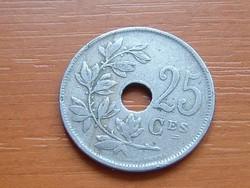 BELGIUM BELGIQUE 25 CENTIMES 1922  #