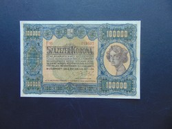 100000 korona 1923 RITKA !!!