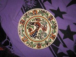 Korondi,  Máthé  tányér, madaras  A/ 36