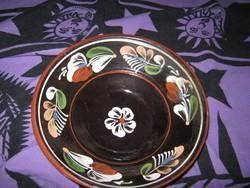kerámia tál, tányér, 21 5cm (44)