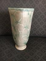 Különleges mintázatú Gorka Géza váza