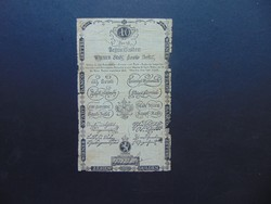 Ausztria 10 gulden 1806 RITKA !!!