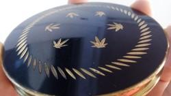 Gyönyörű réz púderes szelence kézzel készített 45 éves