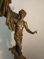 E.Bruchon szobor, Patria
