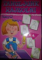 Tanuljunk rajzolni lépésről lépésre. Kreatív hobbi, gyerekeknek, ajánljon!