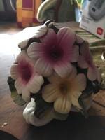 Gyönyörű Porfin Porcelán Virágcsokor