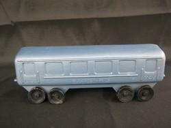 MÁV Budapest-Pécs retro műanyag trafikáru játék vonat vasúti kocsi vagon