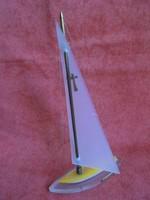 Plexi vitorlás hajó: Balatoni emlék