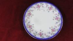 EDELSTEIN Bavaria német  porcelán süteményes tányér. Rózsa mintás.