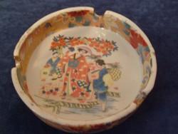 Japán , Festett ritka Porcelán Hamutál